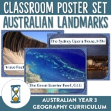 Famous Places and Landmarks in Australia Posters