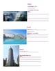 Famous Places in Spain and Latin America