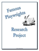 Famous Playwright Research Project