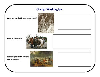 Presidents George Washington and Abraham Lincoln Common Core Aligned
