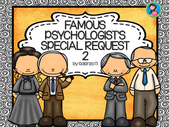 Famous Psychologists Poster Special Request set 2