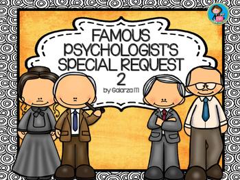 Famous Psychologists Poster Special Request set 2