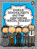 Famous Psychologists Poster Special Request set 3