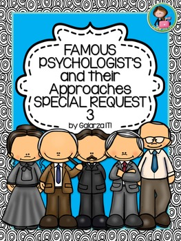 Famous Psychologists Poster Special Request set 3