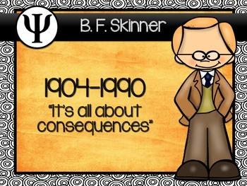 Famous Psychologists Poster set 1