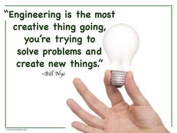 Famous Quotes Posters for Your STEM lab