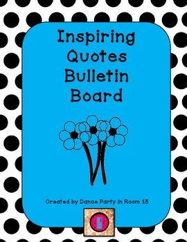 Famous Quotes Ready Made Bulletin Board