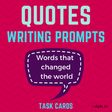 Famous Quotes Reflective Writing Journal Prompts