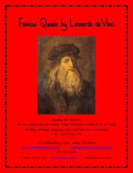 Famous Quotes by Leonardo daVinci