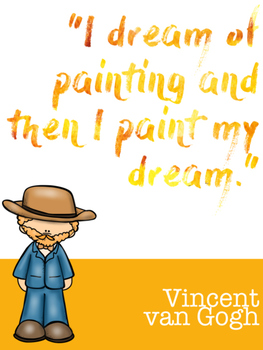 Famous Quotes from Famous Artists - Posters!