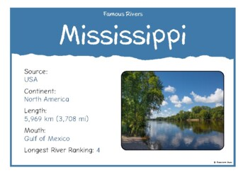 Famous Rivers