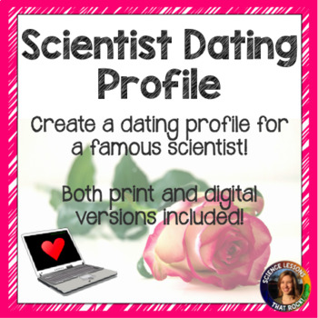 Famous Scientist Dating Profile