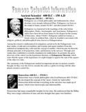 Famous Scientist Information Guide with Comprehension Questions