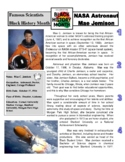 Famous Scientist - Mae Jemison (article/questions - Black History Month)