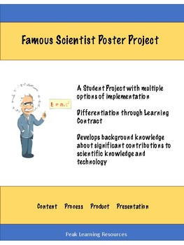 Famous Scientist Poster Project
