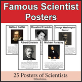 Famous Scientist Posters