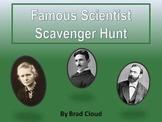 Famous Scientist QR Code Scavenger Hunt