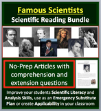 Famous Scientist Reading Comprehension Bundle