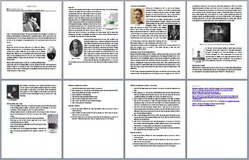 Famous Scientist Reading Comprehension Bundle