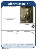 Famous Scientist Report Template