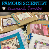 Famous Scientist Research Booklet