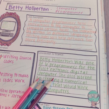 Famous Scientist and Inventor Inspirational Quote Banner and Nonfiction Articles