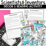 Famous Scientist and Inventor Inspirational Quote Banner a