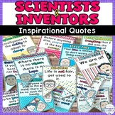 Famous Scientist and Inventor Quote Banner Back to School
