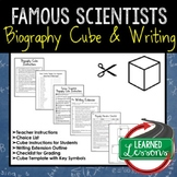 Famous Scientists Activity Biography Cubes (Science)