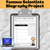 Famous Scientists Biography Project