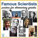 Famous Scientists Bulletin Board Posters for Elementary School