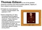 Famous Scientists Informational Flipchart