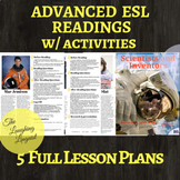 Famous Scientists & Inventors- 5 Lesson Advanced ESL Readi