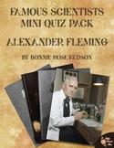 Famous Scientists Mini Quiz Pack: Alexander Fleming