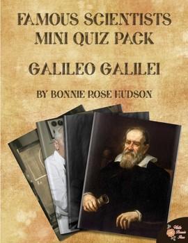 Famous Scientists Mini Quiz Pack: Galileo Galilei