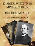Famous Scientists Mini Quiz Pack: Gregor Mendel