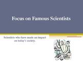 Famous Scientists PPT