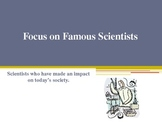 Famous Scientists PPT