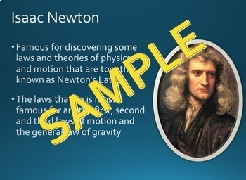 Famous Scientists PowerPoint Slideshow - 5th Grade