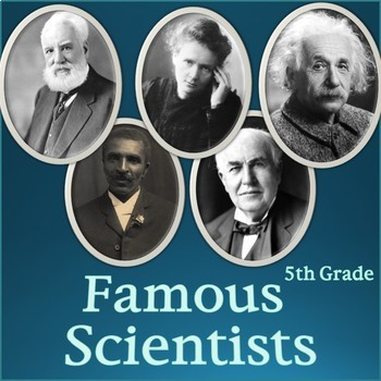 Famous Scientists PowerPoint Slideshow - Informational Presentation