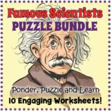 Famous Scientists Puzzle Bundle
