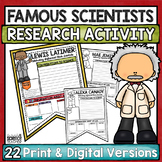 Famous Scientists Research Project