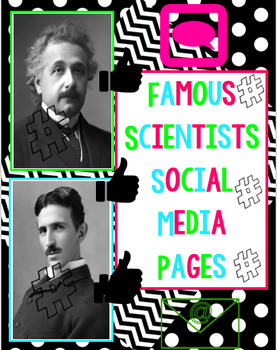 Famous Scientists Social Media Pages