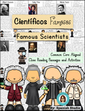 Famous Scientists (Spanish). Close Reading