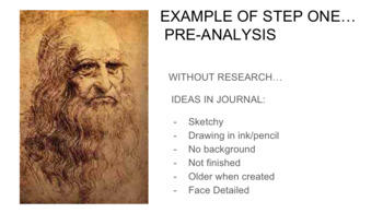 Famous Self-Portrait Analysis and Student Reflections