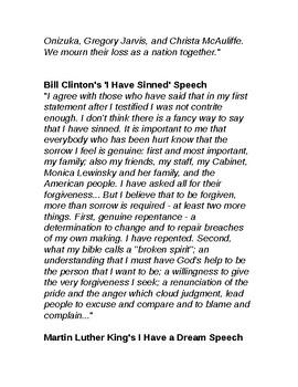 Famous Short Speeches