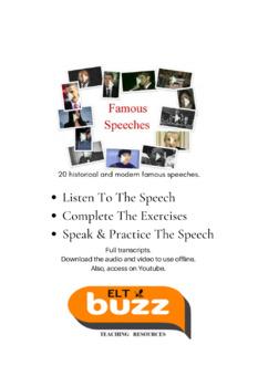 Famous Speeches Listening Workbook
