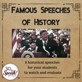 Famous Speeches of History Lesson
