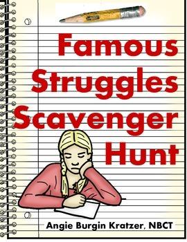 Famous Struggles Scavenger Hunt