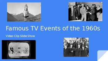 Famous TV Events of the 1960s Slideshow